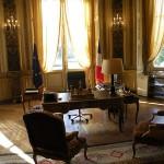 Historique : la CFDT rencontre le ministre des affaires étrangères en bilatéral (27 novembre 2012)