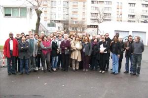 photo de groupe CFDT Congrès 2012