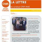 Report du CTM ; amertume des SGA ; conditions de travail au SCEC : la LDS de mai-juin est en ligne !