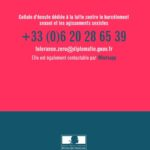 Harcèlement sexuel et agissements sexistes : vers la tolérance zéro au MEAE !